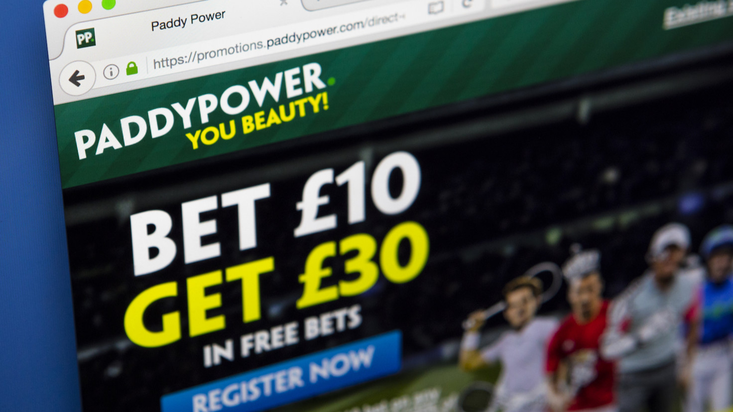 Paddy Power shares down