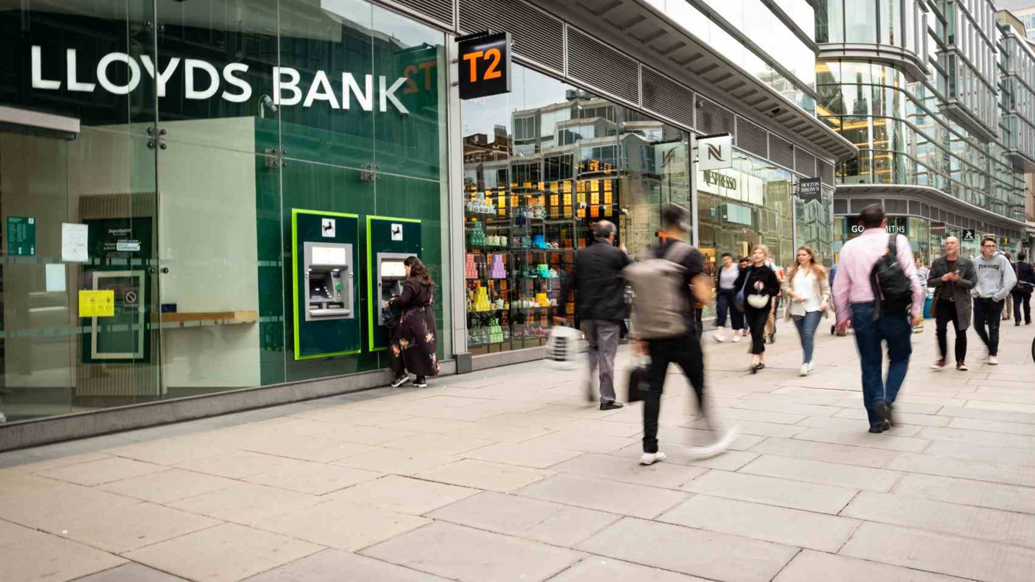 Lloyds bank profits fall sharply due to 1.8bn PPI charge