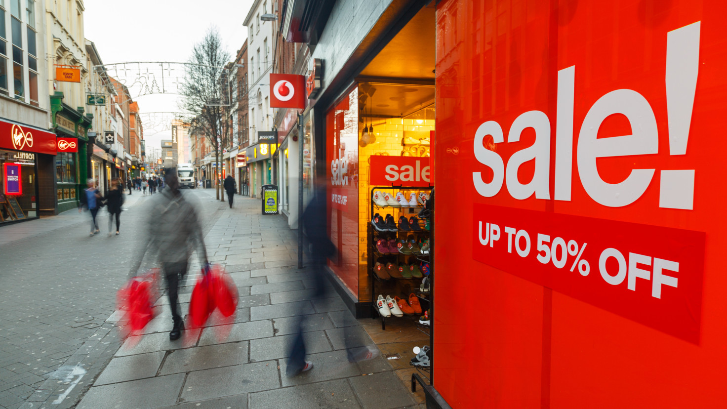 British spending habits bleak as growth falls to new low