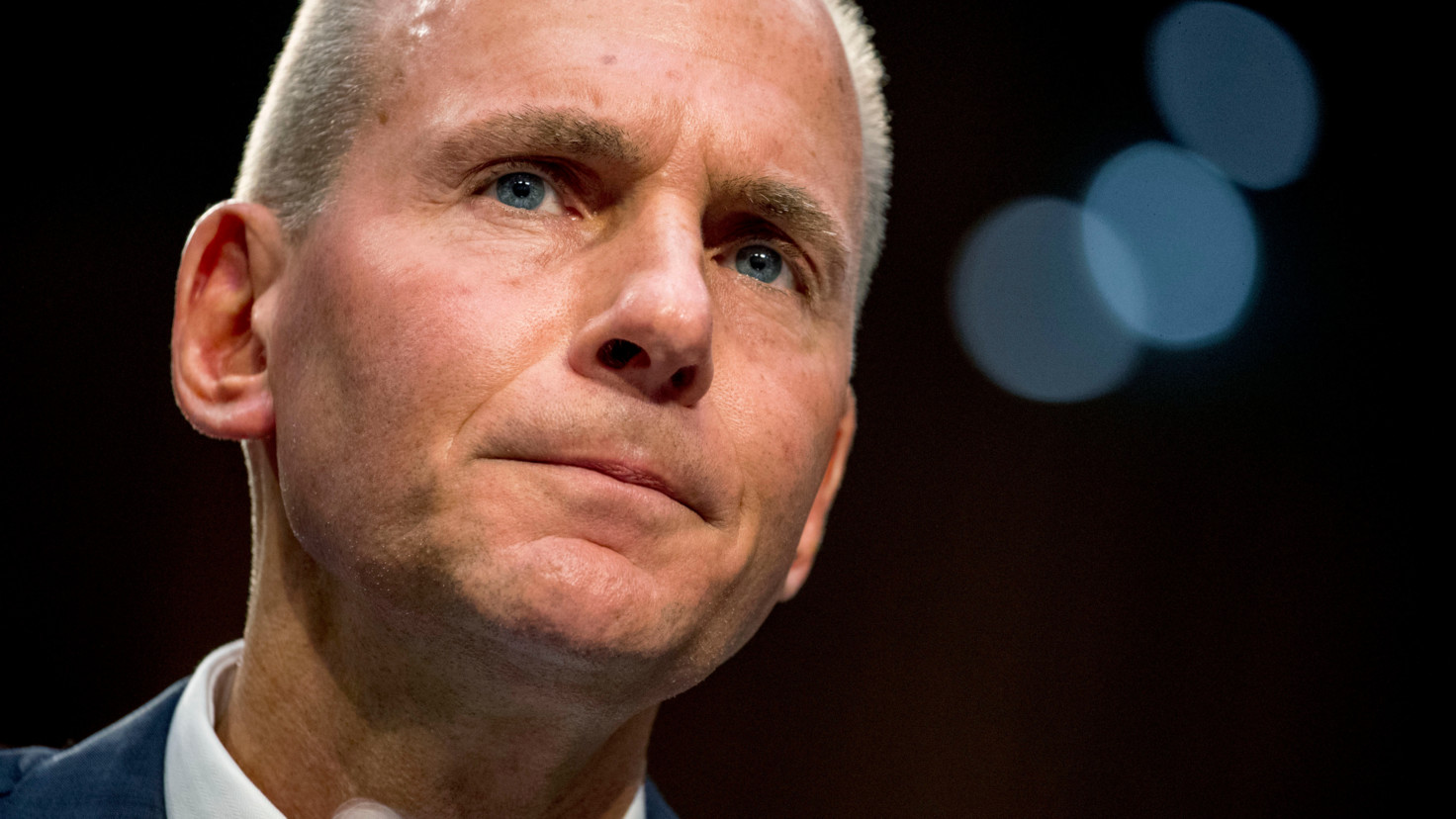 Boeing fires CEO over scandal