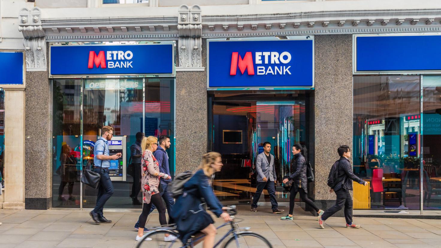 Metro Bank reports pre-tax loss of 131m