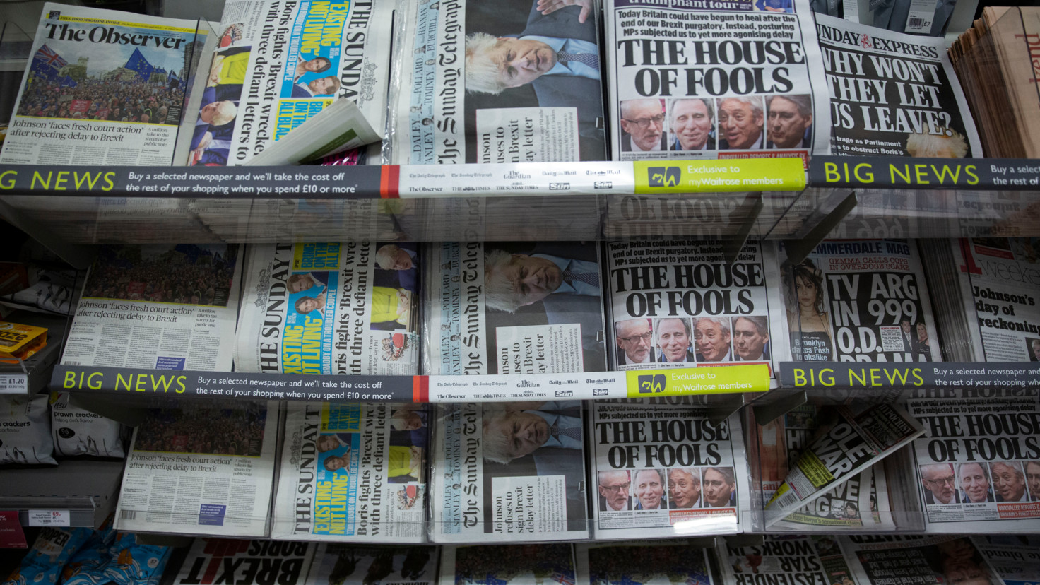 Owner of UKs Daily Mail buys i newspaper from JPI media